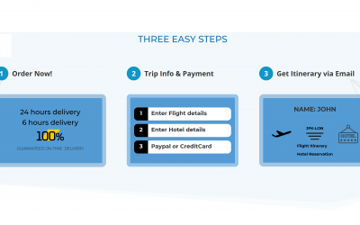 How to Get Flight Reservation in 3 Easy Steps For Visa Approval at Embassy