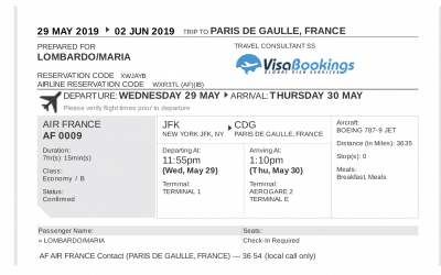 Flight Reservation – How to confirm if it is valid