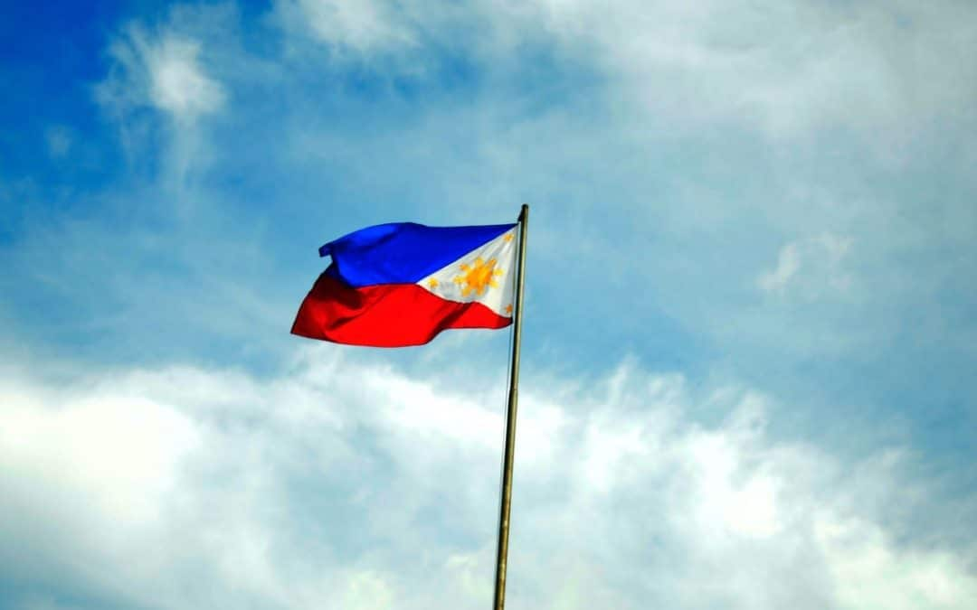 Philippine flag not in schengen zone