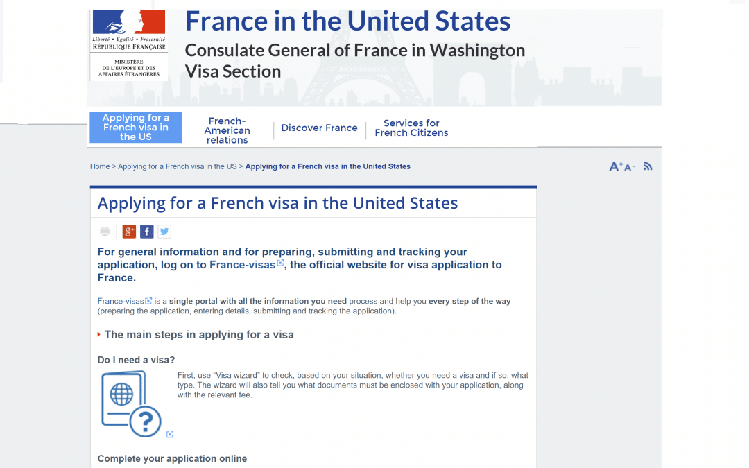 How to Apply Schengen Visa At French Consulate Washington DC