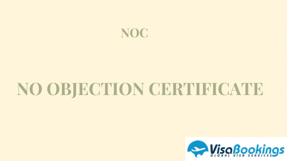 Free No Objection Certificate Template For Visa