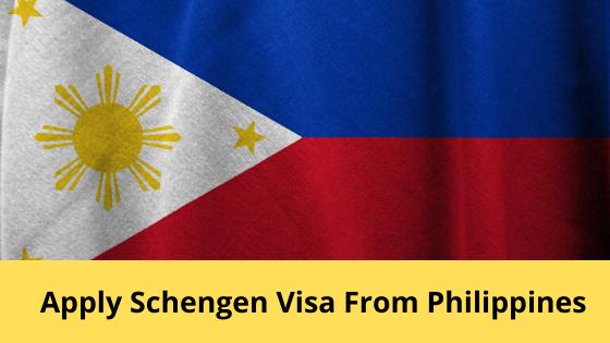 Apply for Schengen Visa Application from Philippines