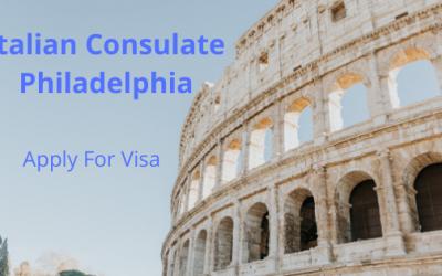 Italian Consulate Philadelphia – 4 easy steps to apply for visa