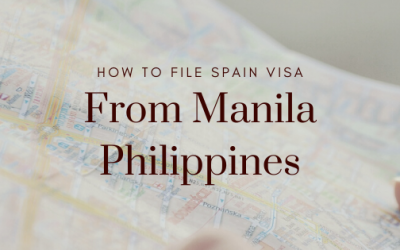 How to File Spain Visa Application from Manila